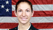 Gov. Martin O' Malley has ordered the U.S. and Maryland flags at state facilities flown at half-staff on Monday to honor Army Capt. Sara M. Knutson, a helicopter pilot from Eldersburg who died last month in Afghanistan.