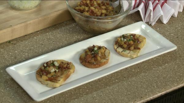 Chef Robert Lewis created the winning recipe for the Vito's competition: So You Think You Can Cook.