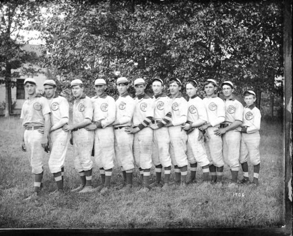 The Highland Park Crescents, 1906 Photo donated to the Highland Park Historical Society by the Glader family.