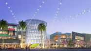 Construction is underway on the long-awaited city center for Playa Vista that will include its first grocery store -- a Whole Foods Market.