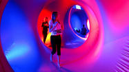 Reader photo: Colorful tunnels