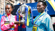 Desisa, Jeptoo win Boston Marathon