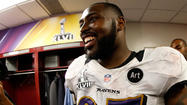 Ravens starting defensive end Arthur Jones emerged unscathed following a car accident where his automobile got pushed into a ditch after being struck by another car, according to Jones' agent, Joe Panos.