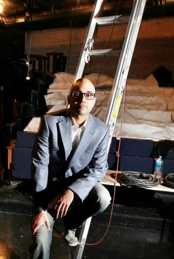 Ayad Akhtar at the American Theater Company in Jan. 2012.