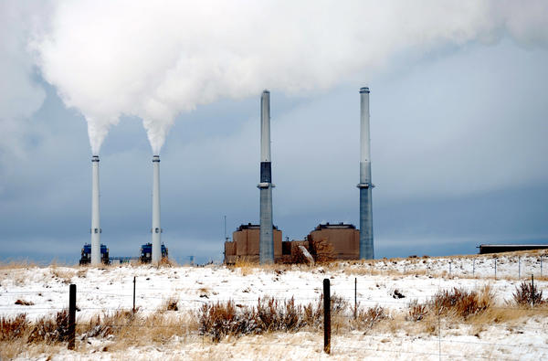 A four-unit power plant in Colstrip, Mont., part of the second-largest coal-fired project west of the Mississippi River.