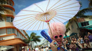 Gay Pride Parade Held In Miami