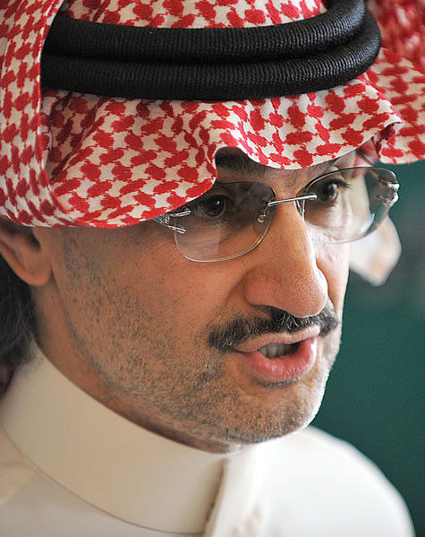Saudi Prince Alwaleed bin Talal, above at a news conference in September 2011 in Riyadh, advocates allowing Saudi women to drive.