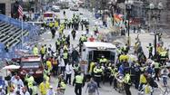 Reactions on Twitter have been coming in quickly since a pair of explosions at the finish line of the Boston Marathon on Monday killed two people and injured dozens of others.