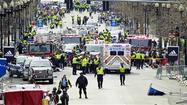 "<span style=""font-size: medium;"">BOSTON (AP) -- Authorities say bombs that exploded near the finish line of the Boston Marathon have killed two people and injured more than 120.</span>"