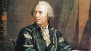 Leonhard Euler, a Swiss mathematician who continued to work on complex equations from memory even after he went blind, is honored in Monday's Google Doodle on the 306th anniversary of his birth.