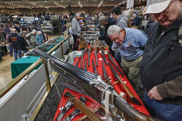 In January, gun enthusiasts gathered for the annual New York State Arms Collectors Assn.'s Albany Gun Show.