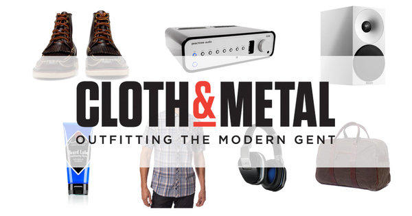 Men's apparel, accessories and audio electronics will be sold at Cloth & Metal.