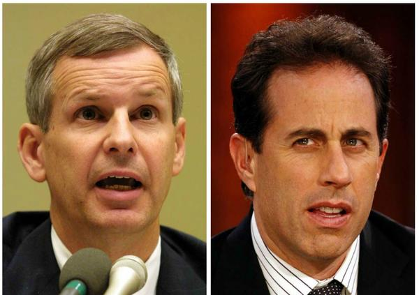 Dish Network Chairman Charlie Ergen gets inspiration from Jerry Seinfeld.