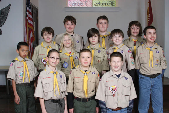 Members of Boy Scout Troop 23 in Funkstown include, front row from left, Miguel Moronta, Andrew Varron, Jacob Lehtola and Josh Snoke. Middle row, Kaleb Morris, Rowan Finley, Patric Rose, Kyle McKay and Jared Harriman. Back row, Armand Martenot, Dustin Worton and Will Hildebrand. Not pictured are Jack Pence, Luke Giancola and James Becker.