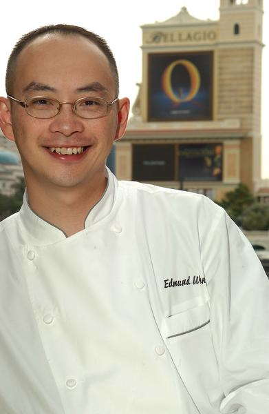 Executive chef Edmund Wong will guide amateur chefs through the preparation of three-course meals during monthly culinary classes at Bellagio in Las Vegas.