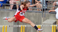 Norwich senior Kenzie Klaver showed the competition at the KT Woodman/Pre-State meet in Wichita that coming from a 1A school means little in the track world.