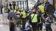 "WASHINGTON (AP) — A stony-faced President Barack Obama declared that those responsible for the explosions at the <span style=""color: red;"">Boston</span> Marathon ""will feel the full weight of justice,"" but he urged a nervous nation not to jump to conclusions. Top lawmakers declared the deadly incident an act of terrorism, and a White House official said it was being treated that way."