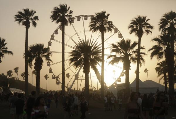 A scene from the 2013 Coachella Valley Music and Arts Festival.