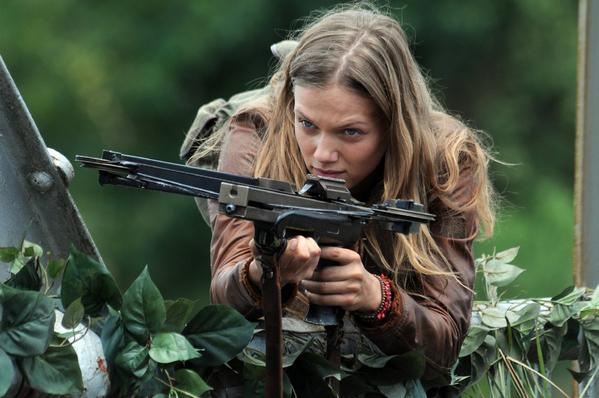 "Tracy Spiridakos as Charlie Matheson on NBC's ""Revolution."""