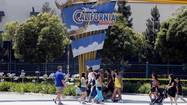 A ride at Disneyland and another at Disney California Adventure Park remained closed Monday as park officials worked to fix safety violations cited by the state.