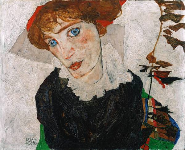 """Portrait of Wally"" by Egon Schiele"