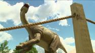 Just off the New Jersey Turnpike, New County Road could be called `Jurassic Parkway.`