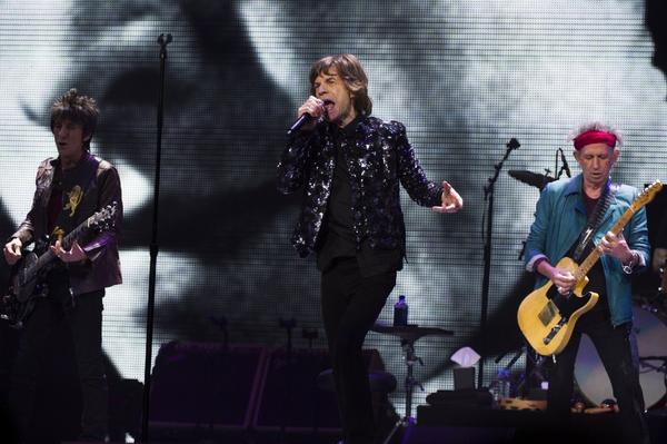 The Rolling Stones get ready to roll again.
