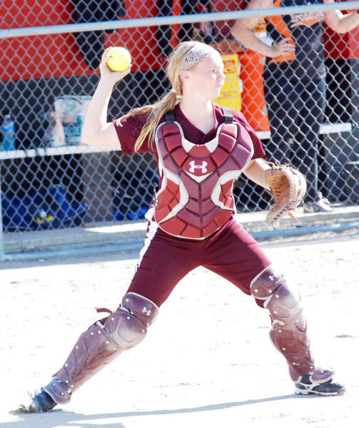 Charlevoix senior Katie Hybl returns to the lineup for the Rayders this season. The Rayders catcher and pitcher last season, Hybl batted .540 last year and is a four-year varsity player along with Rachel Shull.