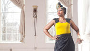 Uchenna Ibezue has been designing clothes ever since she can remember. As a child, she cut scraps of cloth and paper to make new dresses for her dolls.