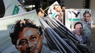 ISLAMABAD, Pakistan — A Pakistani court on Tuesday barred former President Pervez Musharraf from running in next month's parliament elections, derailing the onetime general's bid for an unlikely political comeback in the country he ruled for nearly nine years.