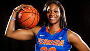 Former Bishop Moore basketball player Jennifer George was drafted by the Indiana Fever with the ninth pick in the third round of the WNBA draft on Monday night.