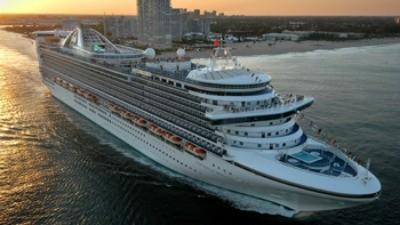 Caribbean Princess in Fort  Lauderdale