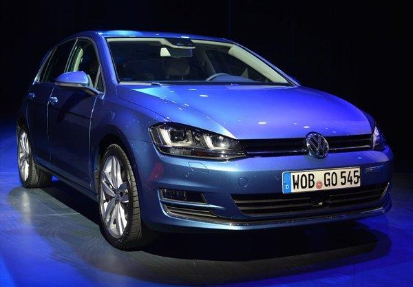 Volkswagen has seen diesel sales increase, a sign that more buyers would be interested if automakers offered more choices. Above, the VW Golf at last month's New York International Automobile Show.