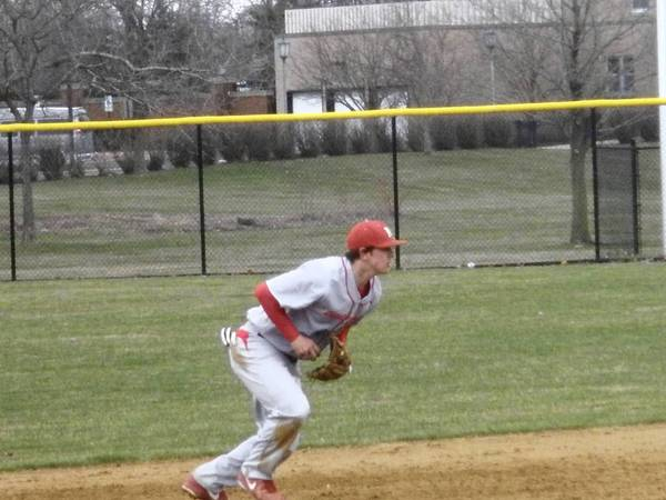 Shortstop Will Farmer is art of a strong Mundelein High School infield