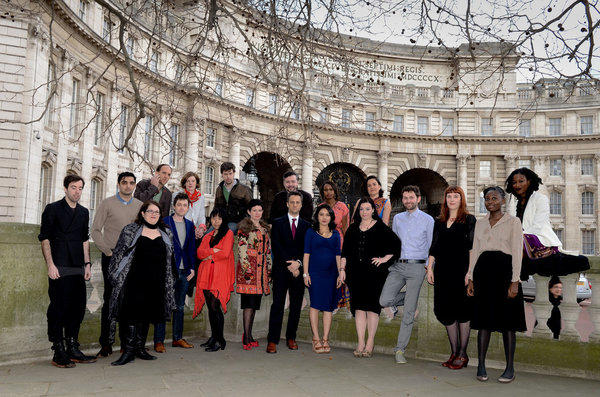 Granta's Best Young British Novelists of 2013 in London.