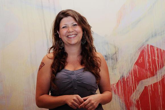 Baltimore artist Lauren Boilini.
