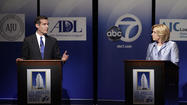"Los Angeles' mayoral candidates suspended public campaigning Tuesday in the wake of the Boston Marathon bombings that left three people dead and more than 170 wounded, in what President Obama called ""an act of terrorism."""