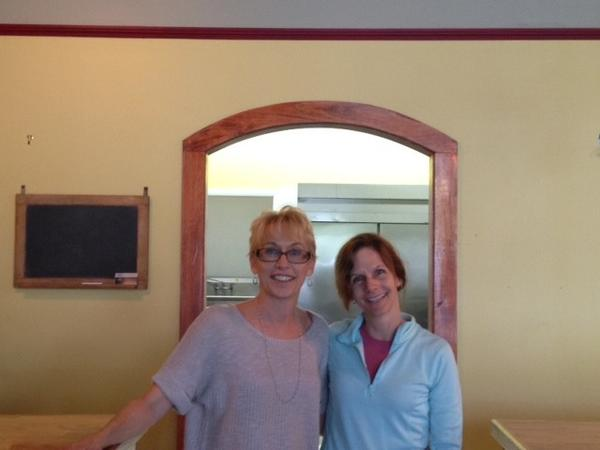 Sisters Kimberly Barnett, left, and Christine Bedrossian plan to open a new restaurant, Center Perk, at 627 Main St. next month.