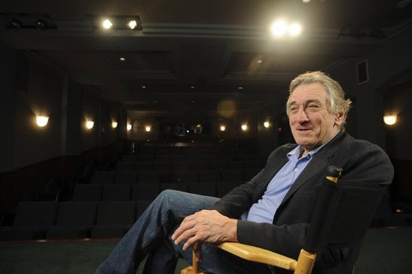 Robert De Niro, shown here at the Aero Theatre in Santa Monica recently, will take part in an HBO documentary about his artist father, Robert De Niro Sr.
