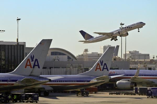 """American Airlines said it has grounded its domestic fleet of airplanes because of computer problems. The airline said planes will remain grounded until 2 p.m. PDT as it """"works to resolve this issue."""""""