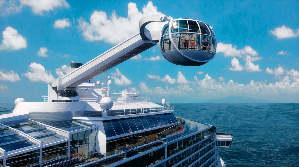 The North Star is an industry-first attraction to debut on the Quantum of the Seas.