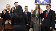Photo Gallery: Glendale officials sworn in