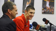 Maryland coach Mark Turgeon took the two little turtle figurines out of his coat pocket and placed them on the table in front of him. Alex Len, whose mother Juliya had given Turgeon the figurines when her then 18-year-old son first committed to the Terps, sat at the coach's side.