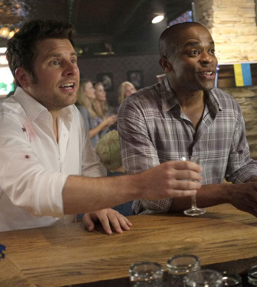 'Psych' Season 7 photos: Episode 7x08, titled Right Turn or Left For Deada, airing Wednesday, April 17.