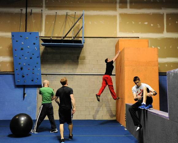 'American Ninja Warrior' training