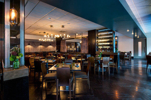 The newly renovated dining area at Art and Soul restaurant inside the Liaison Capitol Hill Hotel in Washington.