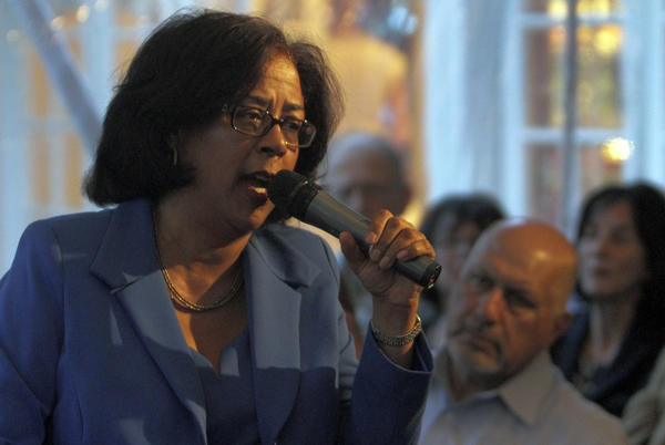 Los Angeles Councilwoman Jan Perry at an event earlier this year.