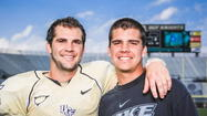 Growing up, UCF quarterback Blake Bortles would come home looking for his brother, Colby — and a game.