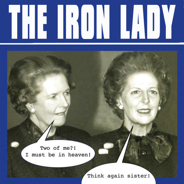 'The Iron Lady,' a 1979 album skewering British Prime Minister Margaret Thatcher, is being reissued on the day of her funeral.