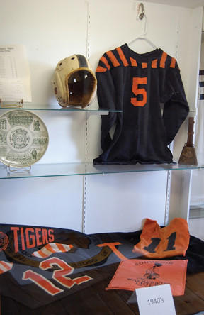 Waynesboro Tigers football memorabilia will be on display starting Saturday at Renfrew Museum in Waynesboro, Pa.